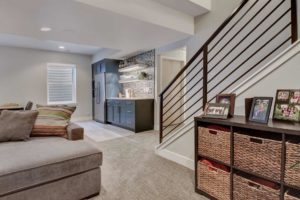 denver colorado basement finishing remodeling