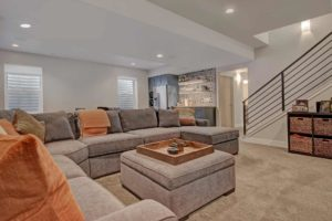denver colorado basement design